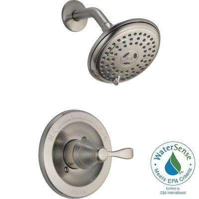 Porter Single-Handle 3-Spray Shower Faucet in Brushed Nickel