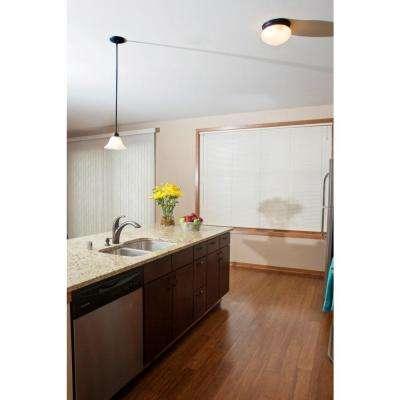 Millbridge 1-Light Oil Rubbed Bronze Ceiling Light Fixture