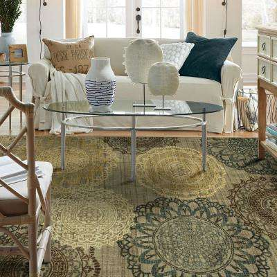 Hamilton Grey 8 ft. x 10 ft. Indoor/Outdoor Area Rug