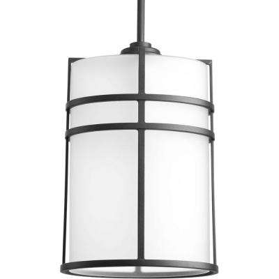 Format Collection 1-Light Black Outdoor Hanging Lantern