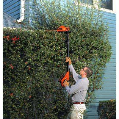 18 in. 20-Volt Max Lithium-Ion Cordless Pole Hedge Trimmer w/ (2) 1.5Ah Batteries and Charger