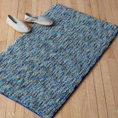 Sea Glass Cotton Bath Rug