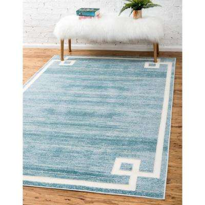 Uptown Collection by Jill Zarin™ Lenox Hill Turquoise 4' 0 x 6' 0 Area Rug