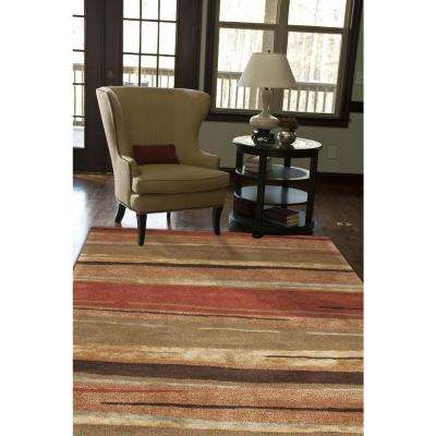 Hand-Tufted Arabian Spice 5 ft. x 8 ft. Abstract Area Rug