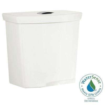 H2Option 0.92/1.28 GPF Dual Flush Toilet Tank Only with Liner in White