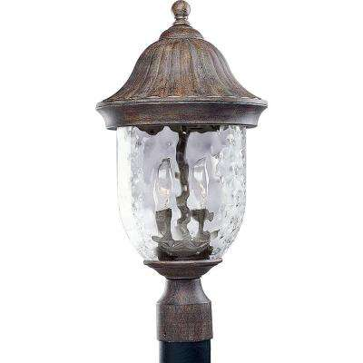 Coventry Collection Fieldstone 2-light Post Lantern