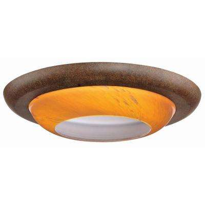 6 in. Rhodes Nutmeg Recessed Can Trim
