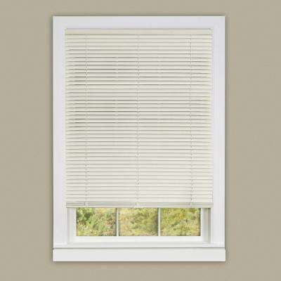 Cordless 1 in. Vinyl Deluxe Sundown Room Darkening Mini Blind 64 in.