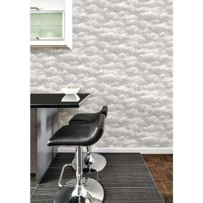 Grey Atmosphere Peel and Stick Wallpaper