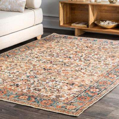 Gaia Transitional Beige 8 ft. x 10 ft. Area Rug