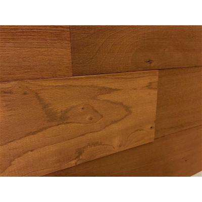 3D Whole Wood 5/16 in. x 4 in. x 24 in. Reclaimed Wood Decorative Wall Planks in Brown Color (10 sq. ft. / case)