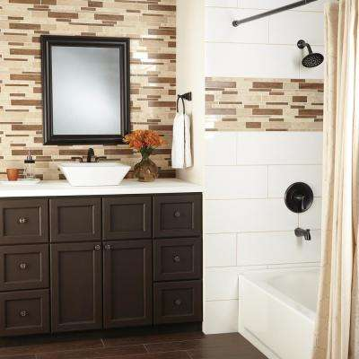 Montagna Saddle Stone 12 in. x 15 in. x 10 mm Stone and Porcelain Mosaic Floor and Wall Tile (1.02 sq. ft. / piece)