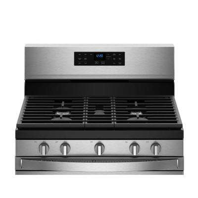 5 cu. ft. Gas Range with Fan Convection Cooking in Fingerprint Resistant Stainless Steel