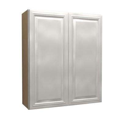 24x36x12 in. Coventry Assembled Wall Cabinet with 2 Doors in Pacific White