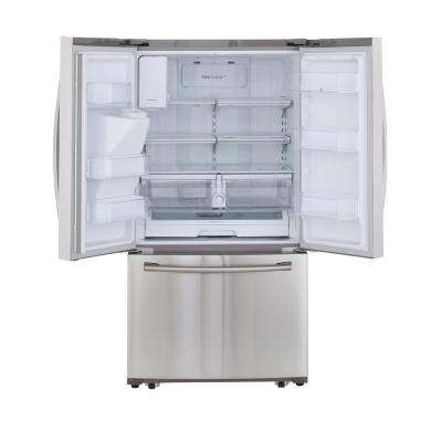 24.6 cu. ft. French Door Refrigerator in Stainless Steel