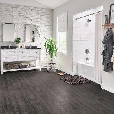 Hydropel Oak Medium Gray 7/16 in. T x 5 in. W x Varying Length Waterproof Engineered Hardwood Flooring (22.6 sq. ft.)