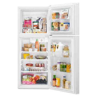 10.7 cu. ft. Top Freezer Refrigerator in White
