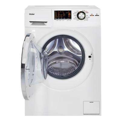 2.0 cu. ft. White 120-Volt Ventless Electric Washer Dryer Combo