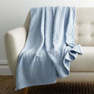 Cotton Bamboo Throw