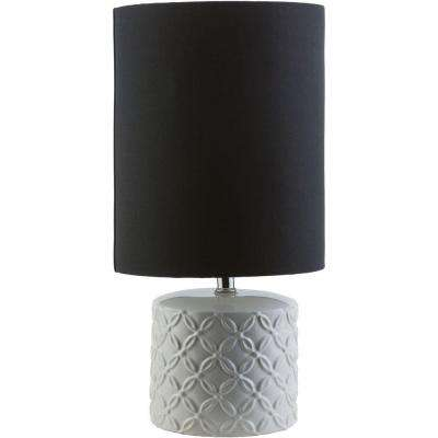 Volta 22 in. White Indoor Table Lamp