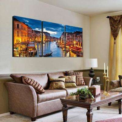 "24 in. x 72 in. ""River Walk"" Printed Wall Art"