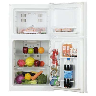 4.5 cu. ft. Frost Free Mini Refrigerator in White
