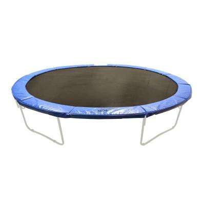 Super Trampoline Safety Pad Spring Cover Fits for 17 ft. x 15 ft. Oval Trampoline Frames in Blue
