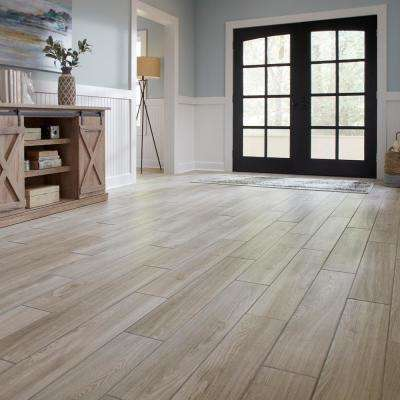 Regent Grove 6 in. x 36 in. Ash Gray Glazed Porcelain Floor and Wall Tile (14.5 sq. ft./Case)