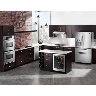 30 in. Convertible Under Cabinet Range Hood with Light in Stainless Steel