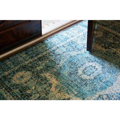 Imperial Lygos Turquoise 3' 0 x 9' 10 Runner Rug