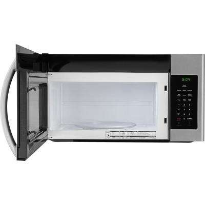 30 in. 1.6 cu. Ft. Over the Range Microwave in Stainless Steel