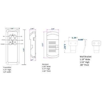 Universal Ceiling Fan Remote