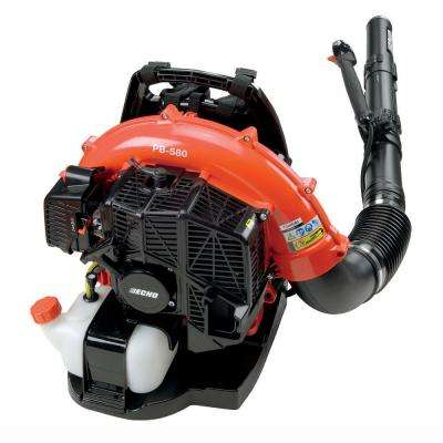 215 MPH 510 CFM 58.2cc Gas Backpack Blower with Tube Throttle