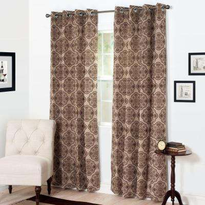 Semi-Opaque Dana Curtain