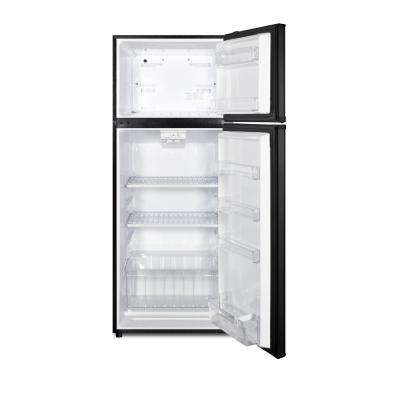 10.3 cu. ft. Frost Free Top Freezer Refrigerator in Black Stainless Steel, ENERGY STAR