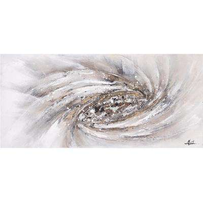 27.559 in. H x 59.055 in. W Whirlwind Artwork in Canvas