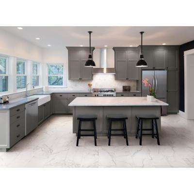 Impero Calacatta Premium 12 in. x 12 in. x 9 mm Porcelain Brick Mosaic Tile (0.96 sq. ft. / Each)