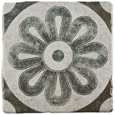 Costa Cendra Decor Zinnia 7-3/4 in. x 7-3/4 in. Ceramic Floor and Wall Tile (11.5 sq. ft. / case)
