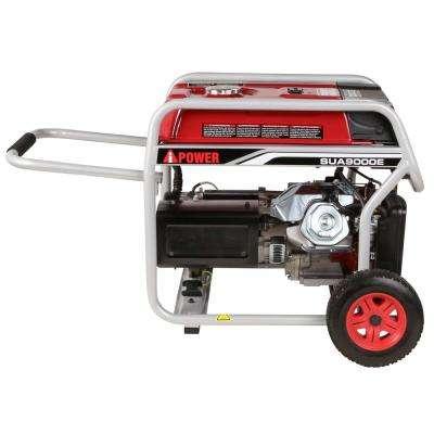 7250-Watt Electric Start Gasoline Powered Portable Generator