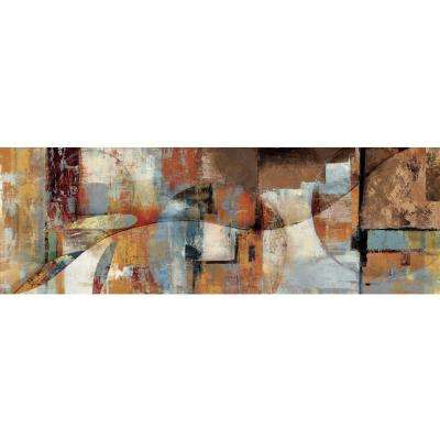 "20 in. x 59 in. ""Contrast And Compare II"" Printed Canvas Wall Art"