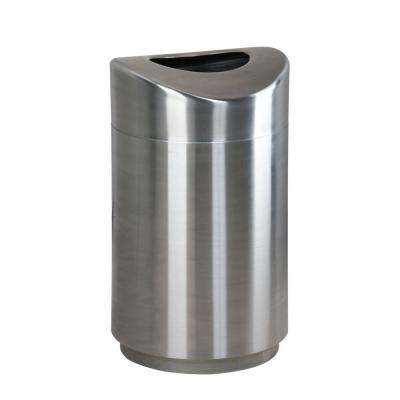 Rubbermaid Commercial Products Eclipse 30 Gal. Stainless Steel Open Top Trash Can
