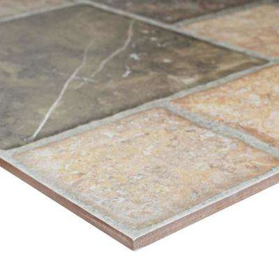 Figueres Magma 17-3/4 in. x 17-3/4 in. Ceramic Floor and Wall Tile (18 sq. ft. / case)