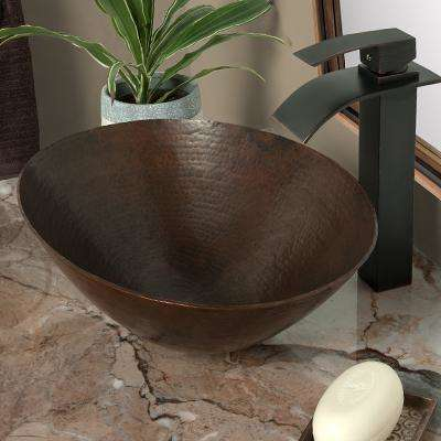 Eclipse Single Hole Single-Handle Bathroom Faucet in Oil Rubbed Bronze