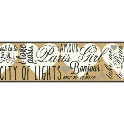 6.75 in. x 15 ft. Brothers and Sisters V City of Lights Border