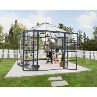 Oasis 12 ft. x 10 ft. Hexagonal Greenhouse