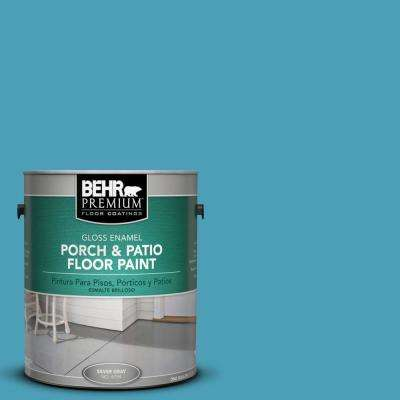 1 gal. #M480-5 Eskimo Gloss Porch and Patio Floor Paint