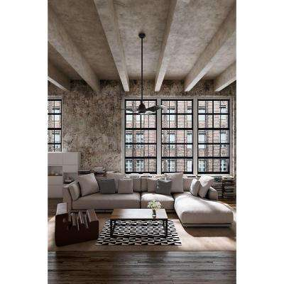 Stingray 60 in. Indoor Granite Ceiling Fan with Light