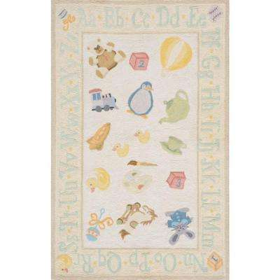 Lil Mo Classic Yellow 2 ft. x 3 ft. Area Rug