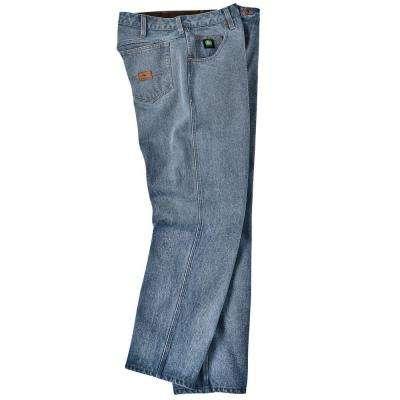 Denim 5-Pocket Jean in Pepper Wash