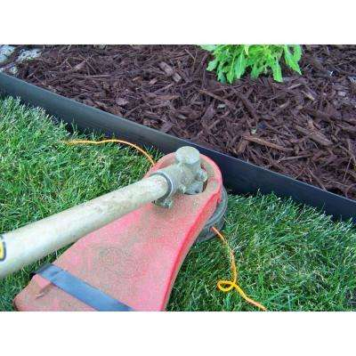 60 ft. L x 2 in. W x 3 in. H Black Tall Resin Innovative Edge No Dig Edging with 9 in. Poly Stakes (30-Quantity)